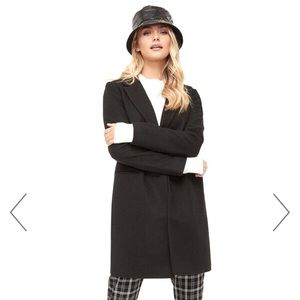 Ardene long black coat
